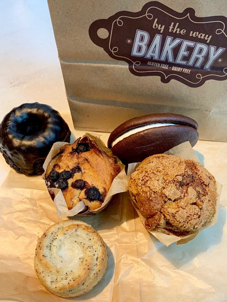 several pastries from By The Way bakery in New York City