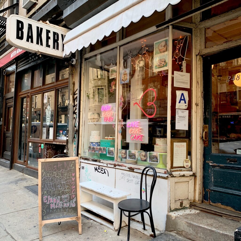 a bakery in New York City
