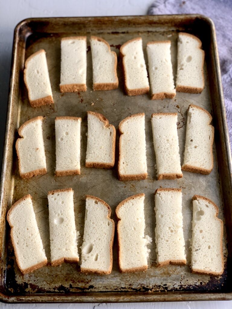 slices of bread for french toast