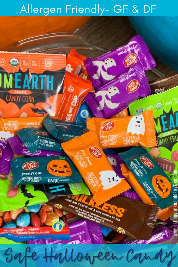 A big pile of allergen friendly candy,